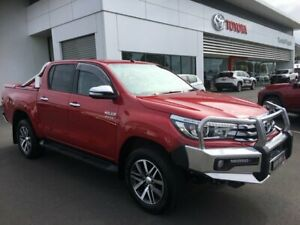 2016 Toyota Hilux GUN126R SR5 (4x4) Olympia Red 6 Speed Manual Dual Cab Utility Sale Wellington Area Preview