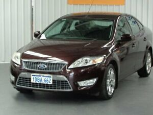 2008 Ford Mondeo MA TDCi Maroon 6 Speed Sports Automatic Sedan Rockingham Rockingham Area Preview