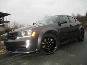 "2014 Dodge AVENGER 2.4L 4CYL, AUTOMATIC TRANS, 18"" BLACK ALLOY W"