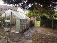 Large Aluminium Frame Greenhouse