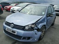 2010 volkswagen golf mk6 1.6 tdi breaking for parts
