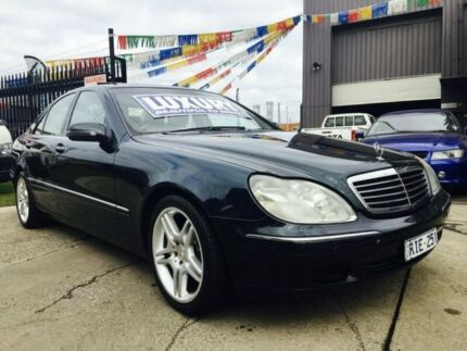 2001 Mercedes-Benz S320 W220 5 Speed Automatic Sedan Brooklyn Brimbank Area Preview