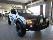 2013 Ford Ranger PX XL 3.2 (4x4) Cool White 6 Speed Automatic Dual Cab Utility Thornleigh Hornsby Area Preview