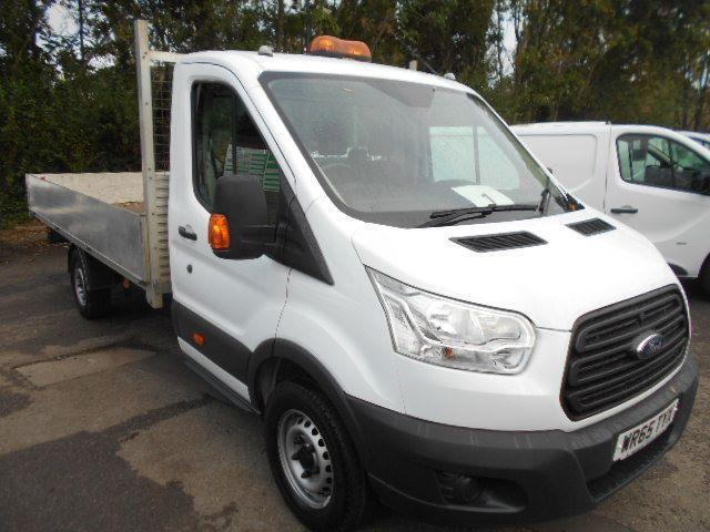 Ford Transit T350 DROPSIDE 2.2 Tdci 125Ps Heavy Duty Chassis Cab DIESEL (2015)