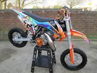 KTM SX50 CHILDS MOTOCROSS MOTORCYCLE