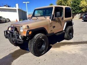 2000 Jeep TJ   Rust-Proof   Off-Road Package   Safety & E-Tested