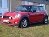 MINI HATCH ONE 1.4 ONE 3d 94 BHP Air Conditioning (red) 2007