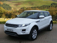 Land Rover Range Rover Evoque SD4 PURE (white) 2012-08-24