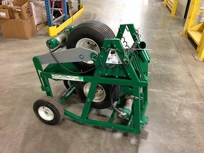 Used Greenlee 6810 Ultra Cable Feeder 120v Cable Pulling