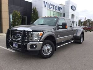 2013 Ford F-350 LARIAT, 4x4, DUALLY, NAVIGATION, LOW K