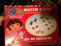 Jeu de mémoire Dora
