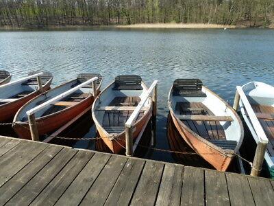 Ruderboot ( Rarität) mit Lehne