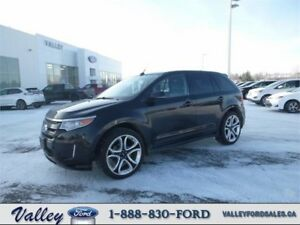 WINTER TRAVEL MACHINE FOR 5! 2013 Ford Edge Sport AWD