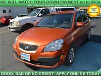 2008 KIA Rio, $33/Week or $144/Month, NO MONEY DOWN