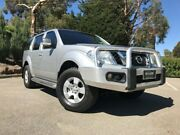2013 Nissan Pathfinder R51 MY10 ST Silver 6 Speed Manual Wagon Littlehampton Mount Barker Area Preview