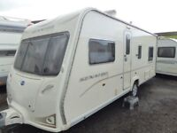 Bailey Senator Indiana 18ft 4 berth fixed bed,top of the range.Superb
