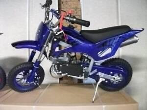 New Dirt bikes 50cc kids peewee brand new