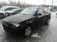 2006 BMW X3 - 3.0L PANORAMIC ROOF
