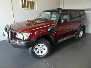 2003 Nissan Patrol GU III ST-L (4x4) Red 4 Speed Automatic Wagon Woodridge Logan Area Preview