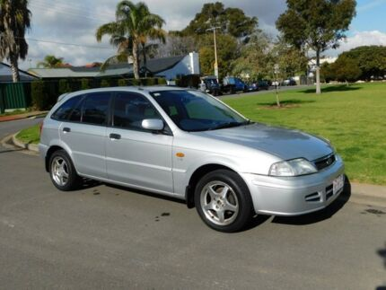 2001 Ford Laser KQ LXI Silver 5 Speed Manual Hatchback Somerton Park Holdfast Bay Preview