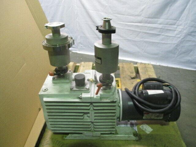 Leybold D30A TRIVAC Vacuum Pump, MDC KTX-150-2, KDFT-4150-2, Dayton, 453523