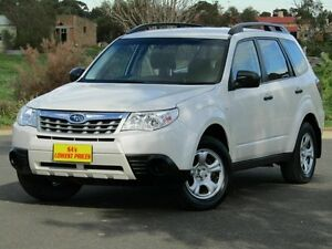 2011 Subaru Forester S3 MY11 X AWD White 4 Speed Sports Automatic Wagon Strathalbyn Alexandrina Area Preview