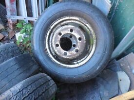 185 x14 tyres and wheels offtwin wheel ford transit 5 off