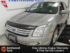 2008 Ford Fusion SEL V6 with keypad entry and cream cloth interi