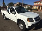 2009 Holden Colorado RC MY09 LX (4x2) White 4 Speed Automatic Space Cab Pickup Lidcombe Auburn Area Preview