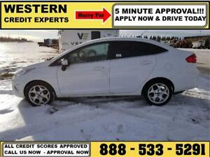 2012 Ford Fiesta ~ PST Paid ~ Loaded ~ Heated Leather ~ REDUCED!