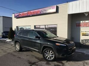 2015 Jeep Cherokee Limited ALL WHEEL DRIVE