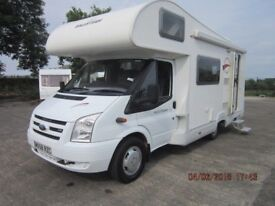 2008 ROLLER TEAM AUTO ROLLER 500 5 BERTH MOTORHOME WITH ONLY 18K MILES ANDERSON MOTORHOME SALES