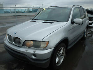 BMW X5 CLASS (2001/2006/ FOR PARTS ONLY)
