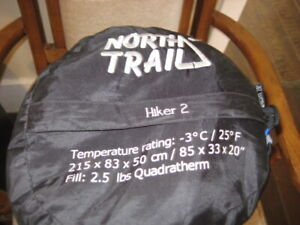 FOR SALE NORTH TRAIL SLEEPING BAG