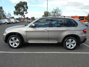 2007 BMW X5 E70 3.0D Gold 6 Speed Auto Steptronic Wagon Maidstone Maribyrnong Area Preview