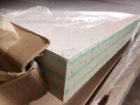 White Sparkle Laminate Kitchen Worktop - Brand New 3 mtr long SQUARE edges