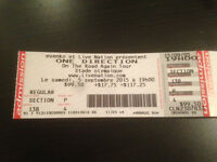 4 One Direction Tickets!