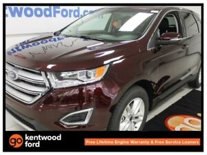 2017 Ford Edge SEL AWD 201a pkg Sunroof NAV Heated steering Remo