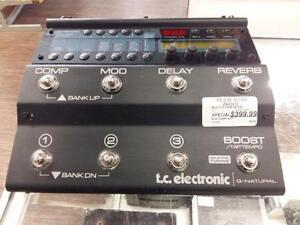 Multi-effet pour guitare de marque Tc-Electronics en super ??tat