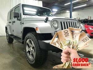 2016 Jeep Wrangler Unlimited Sahara | $161 Week
