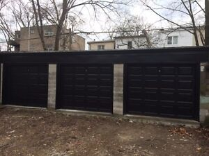 3 car garage available, perfect location & easy laneway access!