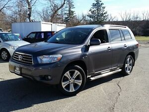 2008 Toyota Highlander ALL SERVICE RECORDS FROM TOYOTA  MINT!!!!