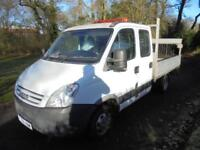 Iveco Daily C Class 2.3 TD IV 35C12 MWB Heavy Duty DROPSIDE TAILLIFT 08 REG 97K