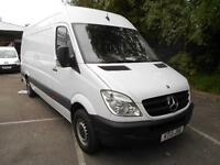 Mercedes-Benz Sprinter 313 CDI LWB 3.5T HIGH ROOF VAN DIESEL MANUAL WHITE (2013)