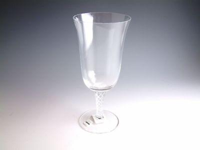 Air Twist Crystal Stemware by Rogaska individual Iced Beverage Glass, New Rogaska Air Twist