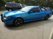 2003 Ford Falcon BA XR6 Blue 4 Speed Auto Seq Sportshift Utility Oxley Brisbane South West Preview