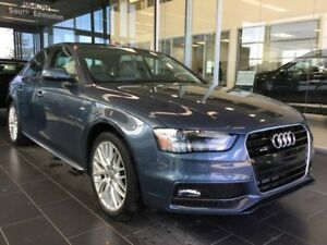 2015 Audi A4 2.0T KOMFORT, HEATED LEATHER, AWD QUATTRO