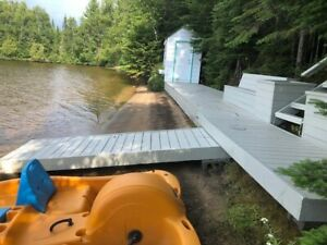 A 2 Bedroom Lakefront Home on One Island Lake in Thunder Bay!