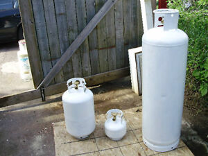 New and refurbished propane tanks for sale