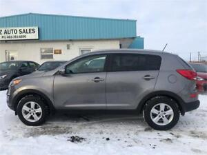 2015 Kia Sportage LX -LOW KMS/ALL WHEEL DRIVE/REMOTE START +MORE